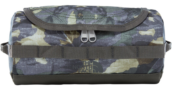 The North Face Base Camp Travel Canister S English Green Tropical Camo/New Taupe Green